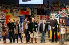 José Fortunati na entrega do Disco do Ano, gênero Instrumental, ao  Grupo Quartchêto
