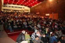 Comunidade da Região Centro lotou o auditório Dante Barone