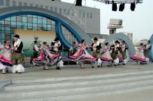 Grupo folclórico divulga música e dança do Rio Grande do Sul na  Expo