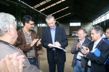 Fortunati assinou a ordem de início para recuperação do centro comunitário