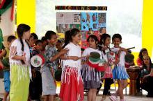 Jovens da escola Neusa Brizola apresentaram série de atividades