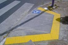 A rota acessível já pode ser vista em alguns pontos da Capital
