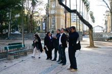 Palestrantes conheceram o Centro e as intervenções para requalificação