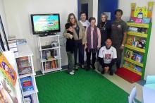 ONG Internacional equipa biblioteca da Vila Nova Chocolatão