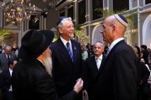 Fortunati participou da comemoração dos 30 anos da Sociedade Beit Lubavitch