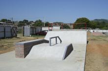 Pista de skate já está pronta no Centro Esportivo e Cultural Bom Jesus