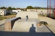 Pista de skate é uma das atrações do Centro Esportivo e Cultural Bom Jesus