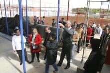Prefeito também visitou as obras do Centro Esportivo e Cultural Bom Jesus
