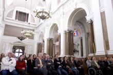 Participantes da cerimônia se emocionaram com as interpretações do coro