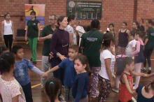 Cerca de 70 crianças participaram das atividades