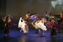 Apresentação no Theatro São Pedro, na 3ª edição do Escola Aberta em Dança