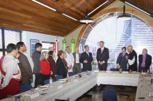 Reunião-almoço contou com participação do presidente da WUPJ, Stephen Fuchs