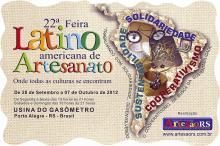 Feira Latino Americana de Artesanato se realiza na Usina até o dia 7 de outubro