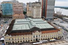 Mercado Público está localizado no Centro Histórico