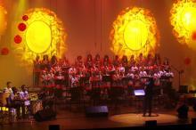 Em duas sessões, espetáculo foi destinado a cerca de mil alunos da Rede Municipal