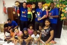 Apresentação integrou confraternização de fim de ano das crianças