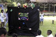 Teatro de Fantoches será uma das diversas atrações do DEP no Dia Mundial da Água
