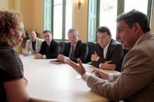 Melo destacou a importância do Centro para fortalecer o turismo de eventos