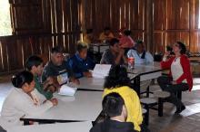 Proposta para a região do Morro São Pedro foi apresentada a aldeias indígenas
