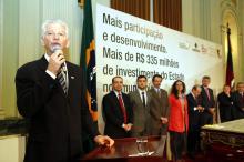 Como presidente da FNP, Fortunati falou da importância dos recursos