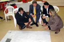Secretários debateram o projeto, que está em fase de planejamento