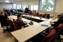 Secretária apresentou a lei na Comissão de Constituição e Justiça (CCJ)