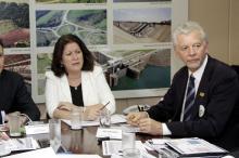 Ministra garantiu que a restauração está incluída nesta edição do PAC