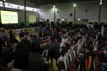 Centro Promo��o da Crian�a e do Adolescente recebe a vota��o �s 15h