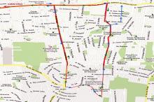 Linhas 650 e 653 terão alterações em seus itinerários