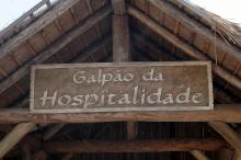 ... um local de acolhimento, de informação turística e da cultura gaúcha