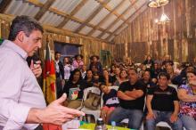 Melo apoiou a proposta que prevê o estímulo às tradições gaúchas