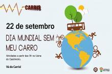 Dia Mundial sem Meu Carro integra a Semana Nacional do Trânsito