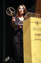 Regente recebeu o Prêmio Líderes & Vencedores