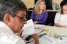 Representantes do Movimento entregaram carta a Sebastião Melo
