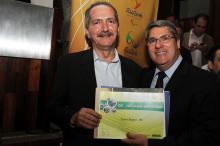 Paulo Marques (D) recebeu confirmação do ministro Aldo Rebelo