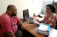 Secretária-adjunta recebe o presidente da Associação Quilombo do Areal
