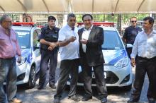 Entrega dos carros faz parte de um convênio entre Executivo e Legislativo