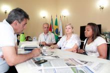 Regularização fundiária foi um dos temas tratados no encontro