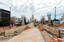 Viaduto da Bento Gonçalves será contemplado e obras serão intensificadas