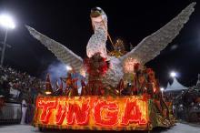 Escola conquistou a terceira colocação no Grupo Especial do Carnaval 2014