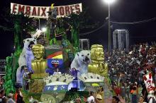 A escola defenderá, em forma carnavalesca, a preservação da terra