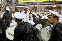Escola será a segunda a desfilar no Porto Seco na noite de sábado, 14