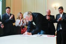 Prefeito José Fortunati sancionou a lei que cria o nono parque da cidade