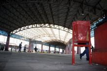 Terminal também recebeu 20 novas lixeiras