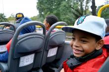 Passeio inaugural teve 40 crianças do projeto Surfar e da Casa Madre Giovana