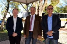 Diretores da Carris visitaram o Piquete Herança Pampeana, que fica no Lote 287
