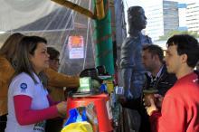 Milhares de turistas foram conferir as atrações no Parque Harmonia