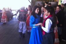 Danças gaúchas agradaram turistas