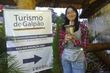 Érica Nogueira, de Fortaleza, resolveu experimentar o chimarrão