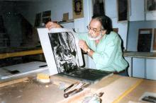 Armando Almeida foi o primeiro coordenador de Artes Plásticas da SMC